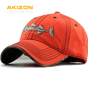 presenting save off large discount AKIZON Fishing Mens Hats - Baseball Cap Fishing Hat Cotton - Mens ...