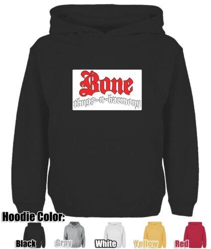 Bone Thugs N Harmony Impresión Sudadera unisex con capucha con capucha Tops Gráfico Con Capucha