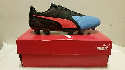 Puma One 19.1 Cc FG AG 10548201 Mens Black Low Top Athletic Soccer Cleats  Shoes | eBay