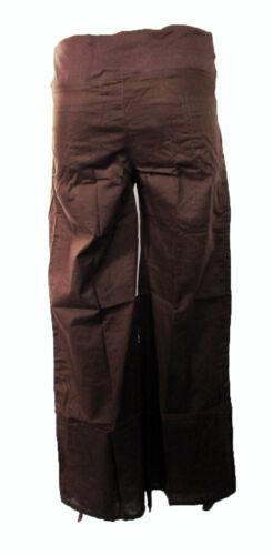 Coton évasée Pantalon Avec Taille élastique au début de maternité Hippy Boho Plus Size