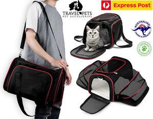 Cat-Dog-Small-Animal-Shoulder-Carrier-Bag-Expandable-Fun-Unique-Pet-Transport