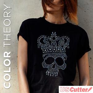 Color-Theory-SEQUIN-Heat-Transfer-Vinyl-Iron-on-w-Rhinestone-Look-20-034-x-12-034-5YD