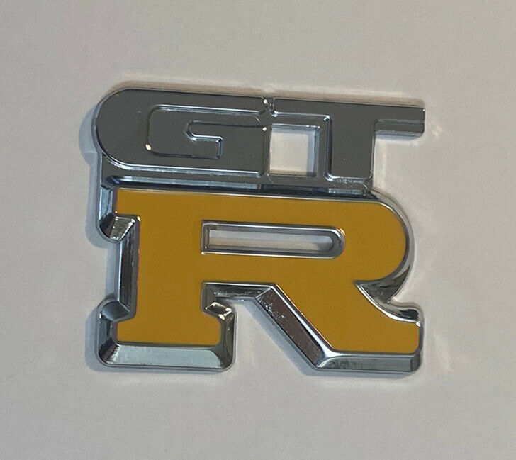 NEW GENUINE Nissan GTR Emblem from R34 Skyline GTR Trunk Badge 84896-AA400