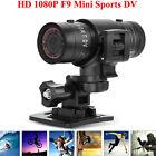 Mini F9 Full HD 1080P Waterproof Sports Helmet Camera DV Action DVR Video Cam