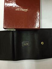 mini porte-monnaie portefeuille Dupont 50682 neuf noir accessories femme homme