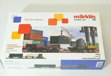 Märklin 44452 Märklin Start up Wagen-Set Containerverladung Neuware.