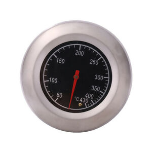 Stainless-Steel-Barbecue-BBQ-Pit-Smoker-Grill-Thermometer-Gauge-60-430-AU