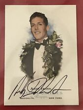 2006 TOPPS ALLEN & GINTER ANDY IRONS AUTOGRAPH SIGNED RARE WORLD CHAMPION SURFER