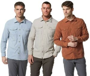 CRAGHOPPERS-NOSILIFE-ADVENTURE-II-SHIRT-LONG-SLEEVE-MENS-TRAVEL-CMS605