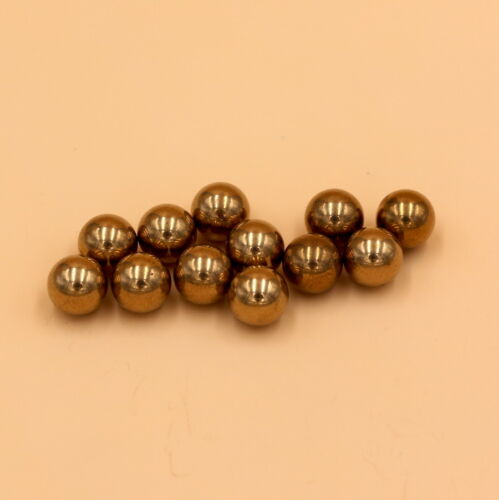 Solid Balls Loose Bearing Balls 3//8/'/' Inch 50pcs Brass H62 9.525mm
