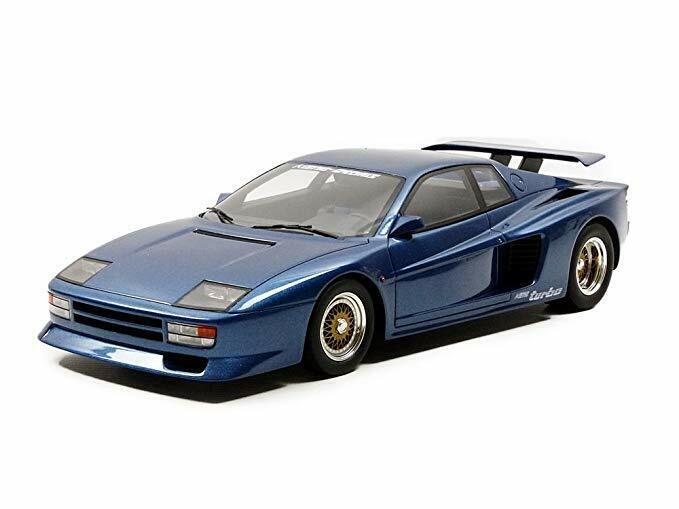 design semplice e generoso GT SPIRIT ZM094 KOENIG TEestrellaOSSA TEestrellaOSSA TEestrellaOSSA Twin Turbo in resina modellololo auto Blu 1985 Ltd 1 18  prima i clienti