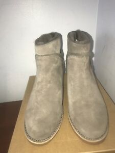cd83be32d41 Details about NIB UGG Australia Kasen Women's Winter Boot Mouse Grey  Shearling Bootie - size 9