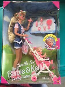 Barbie-amp-Kelly-Strollin-039-Fun