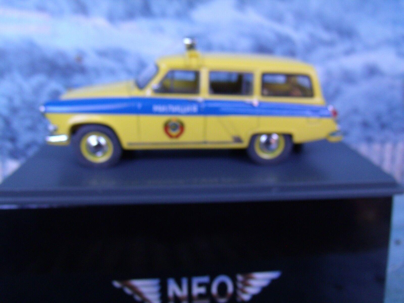 1 1 1 43  NEO  GAZ M22 Volga Police 6e9557