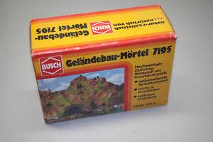 Busch-7195-Gelandebau-Mortier-Piste-h0-neuf-dans-sa-boite