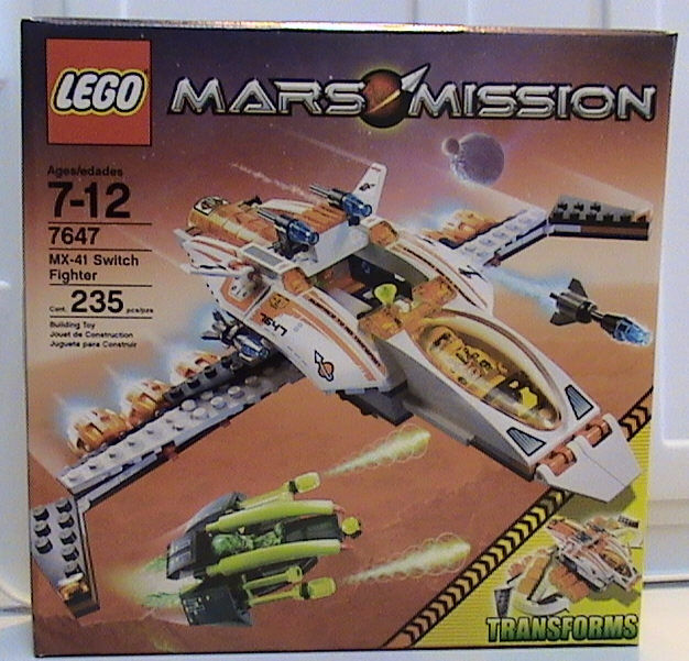 Nuevas Lego Espacio Mars Misión 7647 MX-41 Interruptor Luchador Precintado
