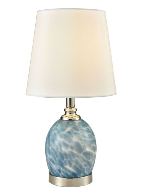 SAT16145-P41 - Dale Tiffany Boyton Art Glass Accent Lamp With Night Light