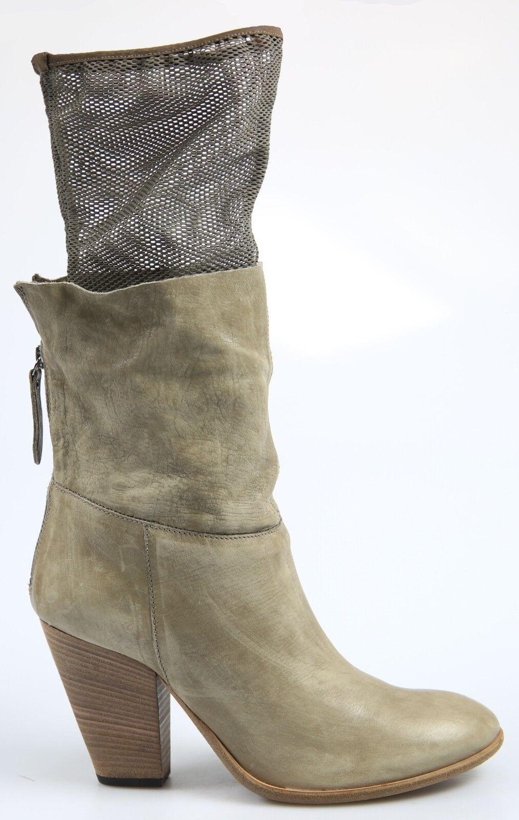 Vic genuina lederbotasletten invierno bota botas tamaño. 39 1 2