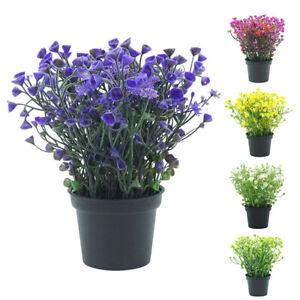 Am-Plastic-Potted-Artificial-Flower-Bonsai-Outdoor-Indoor-Garden-Home-Decor-Nov
