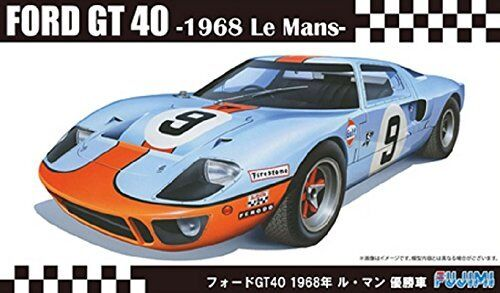 Fujimi Modell 1//24 Real Sports Auto Serie No.97 Ford GT40 /'68 Le Mans Victory