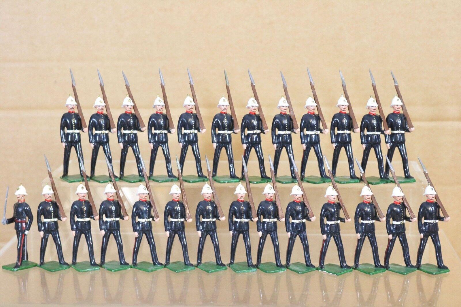 Britains Re Schloss Britisch Royal Marines Marsch At The Hang X 26 Nq