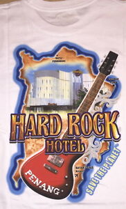 Hard-Rock-Hotel-PENANG-2015-City-Tee-T-SHIRT-Mens-Extra-Large-XL-New-with-Tags