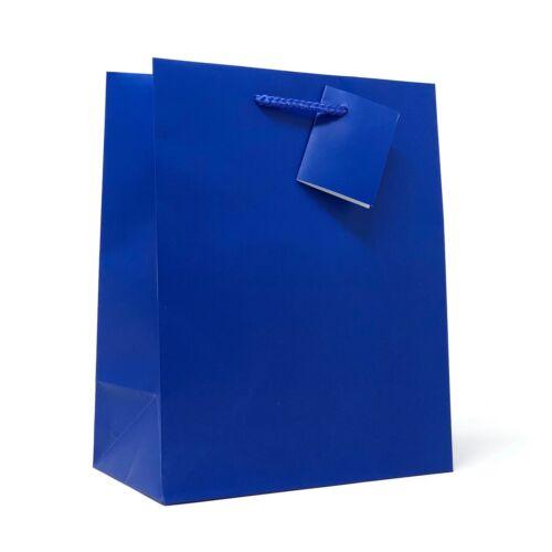 """Allgala 240 Case Lot  Premium Medium Solid Matte Finish Paper Gift Bags 9/""""x7/""""x4/"""""""