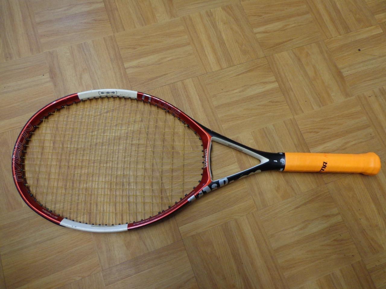 Wilson N code NVISION 103 head 4 1 2 grip Tennis Racquet