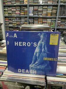 Fontaines Dc LP DES HELDEN Tod Clear Vinyl Versiegelt 2020