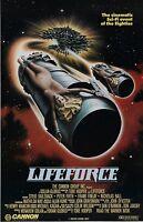 Lifeforce Movie Poster Print - Tobe Hooper 11 X 17 Inches Horror