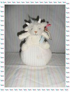 Spielzeug Gewissenhaft Kuscheltuch Stofftier Schaf Sam Weiß Beige Auf Eine Ball Schelle Lief 100% Original