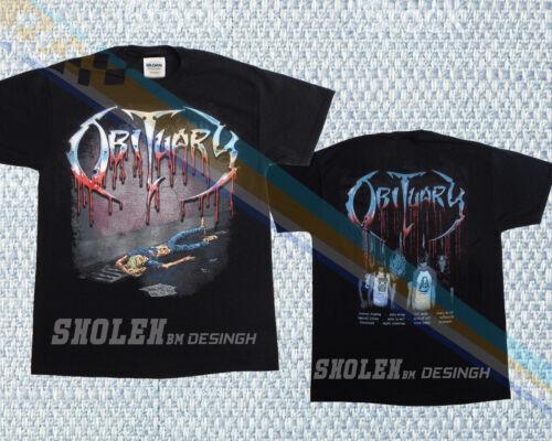 Slowly We Rot New Limited Merch T shirt Unisex Obituary