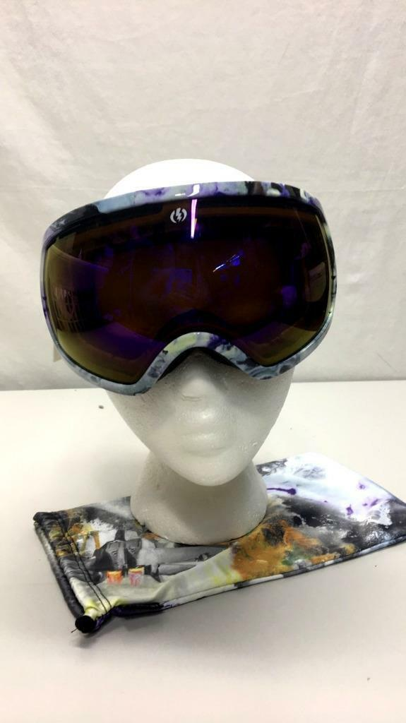 Electric EG2 Spherical CAT.2 Lens Snow Ski Snowboard Goggle Purple Frame NEW