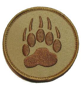 "VELCRO® BRAND HOOK Fastener K9 K-9 Wolf Paw Tracker 2/"""