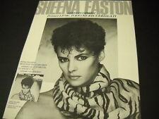 SHEENA EASTON Canta En Espanol VINTAGE Promo Poster Ad in mint condition