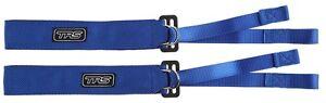 TRS Adjustable Arm Restraints (Pair) BLUE (Formula/Sportsproto/Saloon Car)