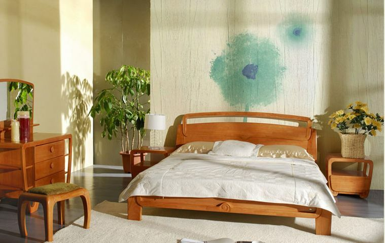 3D Oil bluee Flowers Wall Paper Wall Print Decal Wall Deco Indoor wall Murals