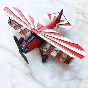 Antikspielzeug Nostalgie Oldtimer Flugzeug Blech Dekoration