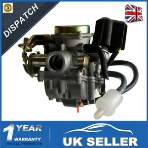 Details about Carburettor For GY6 4-Stroke 50CC Moped Scooter Carburetor  ATV Go Kart Carb -UK