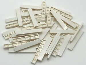 Lego-50-New-White-1-x-6-Tiles-Flat-Smooth-Pieces-Parts