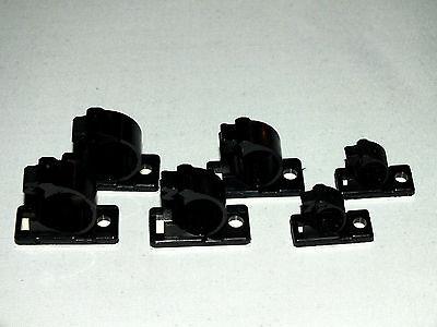 10 x Kabelklemme Kabelschelle Kunststoff 9,9mm