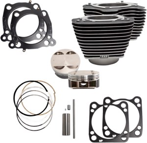 S-amp-S-Cycle-910-0625-124-034-Big-Bore-Kits-For-M-Eight-107-034-Engines-17-19-Harley-M8