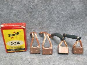 Shurhit-X-236-Starter-Brushes-Brush-Set-NOS-New-Old-Stock-USA-Made-24025