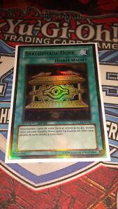 Yu-Gi-Oh Card gold rare holo PGLD-EN068 GOLD SARCOPHAGUS - NM//Mint