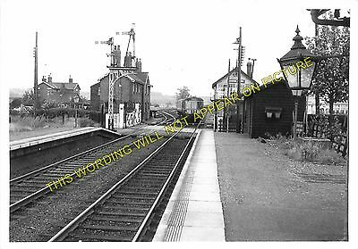 Barkston Railway Station Photo Grantham to Claypole and Honington Lines. 3