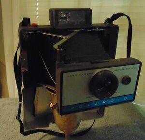 vintage polaroid automatic 210 land camera w/ cold clip