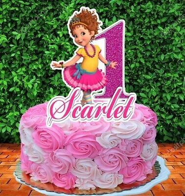 Incredible Fancy Nancy Cake Topper Personalized Ebay Funny Birthday Cards Online Overcheapnameinfo