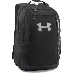 Under-Armour-2017-UA-Hustle-LDWR-Backpack-Rucksack-Gym-School-Bag-1273274-Black