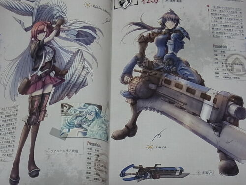 Valkyria Chronicles Senjou No Valkyria 10th Anniversary Illustration Art Book