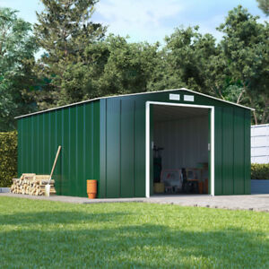 Image Is Loading Partner Eco Metal Garden Shed Heavy Duty Galvanised